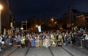 Grupos Ofrenda Flores 2014.ASOCIACION CELIACOS ARAGON